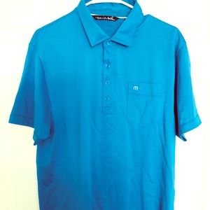 Travis Mathew Blue Polo